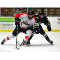 Danville Dashers Battle the Berlin River Drivers for the Puck