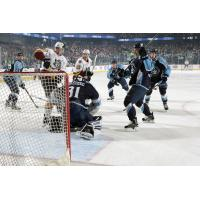 Chicago Wolves Scoring Chance vs. the Milwaukee Admirals