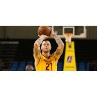 Nick Minnerath of the Canton Charge at the Free Throw Line