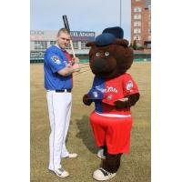 New Hampshire Fisher Cats Model Bipartisan Jersey
