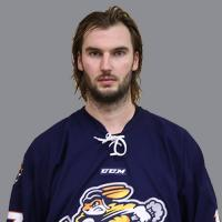 Jordan Knackstedt with the Greenville Swamp Rabbits