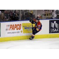Forward Janick Asselin with the Norfolk Admirals