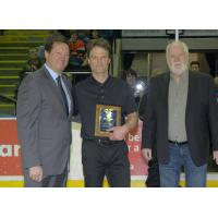 Kelowna Rockets Athletic Therapist Scott Hoyer Receives Award