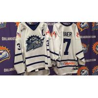 Orlando Solar Bears Maple Leafs-Inspired Jerseys