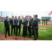 The National Anthem at a Corpus Christi Hooks Game