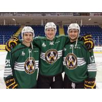 Cape Breton Screaming Eagles Model Irish Jerseys