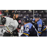 Scott Howes with the Brampton Beast