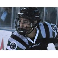 Kenai River Brown Bears Tender David Mitchell with the Rocky Mountain Roughriders U18 Squad