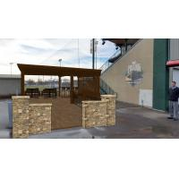 Mankato MoonDogs Hospitality Area Mockup