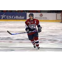 Taylor Procyshen with the Tri-City Americans