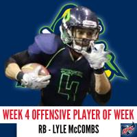Nebraska Danger RB Lyle McCombs