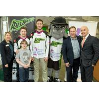 Saskatchewan Rush Support Children's Hospital Foundation of Saskatchewan