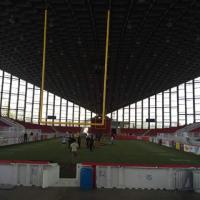 JS Dorton Arena in Raleigh, NC, Home of the Triangle Torch