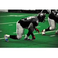 Roosevelt Falls Lines up with the Duke City Gladiators