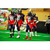 Roosevelt Falls and Duke City Gladiators Teammates