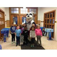 Elmira Jackals Mascot Blade with Diven Elementary, March, Catch of the Day Winners