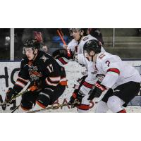 Omaha Lancers vs. the Chicago Steel