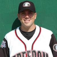 Steve Delabar with the Florence Freedom