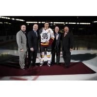 Chicago Wolves Man of the Year Pat Cannone Recognized