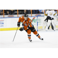 Ross Johnston with the Missouri Mavericks