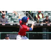 Matt Dominguez Homers for the Buffalo Bisons