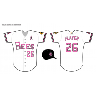 Salt Lake Bees Pink Jersey