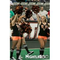 Omaha Beef Cheerleaders