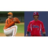 Falls Canaries Canaries Signees, Misael Siverio and Dainer Moreira