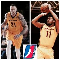 Canton Charge Guard Quinn Cook and Forward Nick Minnerath