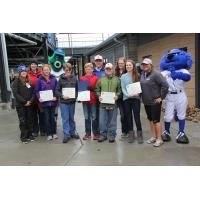 Local NEST Contest Winners Honored at Werner Park Sunday, May 1