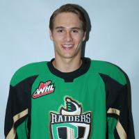 Prince Albert Raiders Goaltender Rylan Parenteau