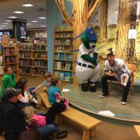 Omaha Storm Chasers Pitcher Clay Mortensen at Barnes & Noble Crossroads