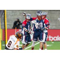 Boston Cannons Celebrate vs. the Rochester Rattlers