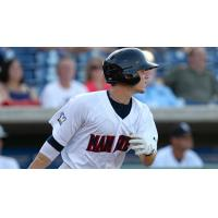 Scooter Gennett with the Brevard County Manatees