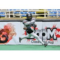 Duke City Gladiators WR Wello Davis Scores a Touchdown