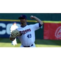 Buffalo Bisons Pitcher Wade LeBlanc