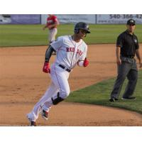 Yoan Moncada of the Salem Red Sox