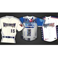 Wisconsin Timber Rattlers 2016 Specialty Jerseys