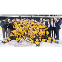 Brandon Wheat Kings Celebrate Winning the WHL Championship Series