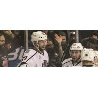 Ontario Reign all Smiles vs. the San Diego Gulls