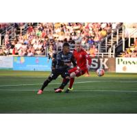 Maikel Chang of the Charleston Battery