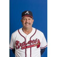 Gwinnett Braves Pitching Coach Mike Alvarez