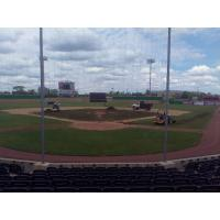 Infield Replacement at Rivets Stadium, Home of the Rockford Rivets