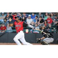 Hickory Crawdads 2B Andy Ibanez