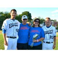 Albany Dutchmen and Host Family