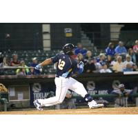 Yasiel Balaguert of the Myrtle Beach Pelicans