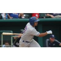 Midland RockHounds Second Baseman Franklin Barreto