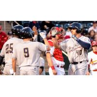 San Antonio Missions Celebrate Mike Olt's Homer