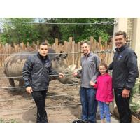 Orange County Blues and Dr. Joshua Schiffman at Hogle Zoo