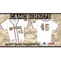 Potomac Nationals Military Appreciation Jerseys